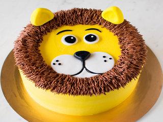 Lion Cream Cake