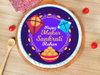 Happy Makar Sankranti Poster Cake