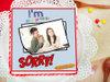 I Am Sorry Photo Cake