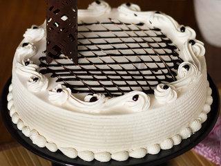 Zoomed View of Irish Delight - Irish Coffee Cream Cake