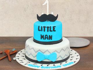 Kidzy Affair Fondant Cake for 1 Year Old Boy