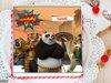 Kungfu Panda Photo Cake For Baby Boys