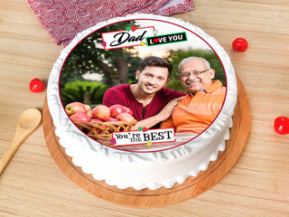 Photo Cake for Dad