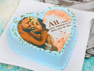 Multi Flavoured Photo Cake
