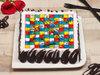 Square Shaped Ludo Cake