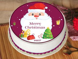 Christmas Poster Cake