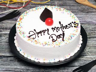 Mothers Day Vanilla Cake