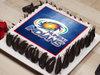 Mumbai Indians Poster Cake