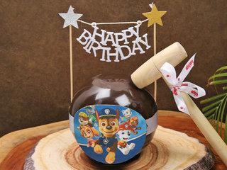 Paw Patrol Chocolate Pinata Cake