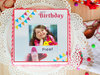 Picture Perfect photo cake for birthday