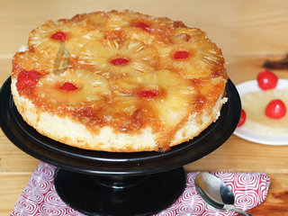 Pineapple Upside Down Fruit Cake