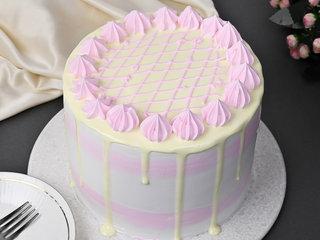 Pineapple Gems Pinata Cake