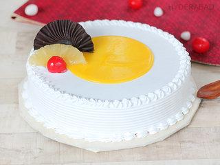 Buy Chocolate Swirl Pineapple Cake in Hyderabad