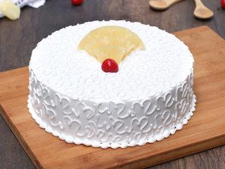Pineapple Vegan Cake in Noida