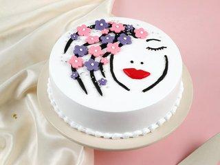 Pineapple Womens Day Cake