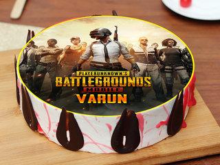 PlayerUnknown Battlegrounds Poster Cake