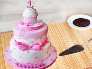 Pink Stunner Princess Theme Cake