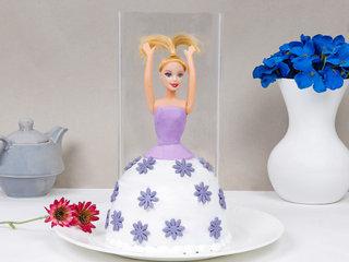 Purple Pull Me Up Barbie Cake 1 Kg