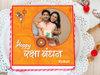 Photo Cake with Rakhi for Raksha Bandhan