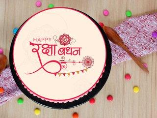 Bouyant Rakhi Cake