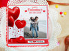 Romance Overloaded - A valentine special photo cake