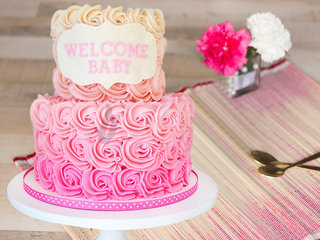 Ruby Rose - A Baby Shower Theme Cake for Girl