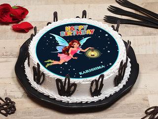 Fairy Barbie Birthday Cake