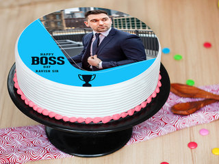 Boss Day Picture Cake