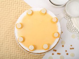 Swirl Butterscotch Cake