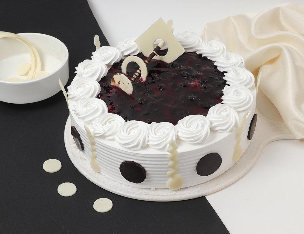 Striking Blueberry Cake