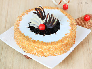 Choco Filled Butterscotch Cake Available in Noida