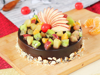 Refreshing Nostalgia - Choco Fruity Cake