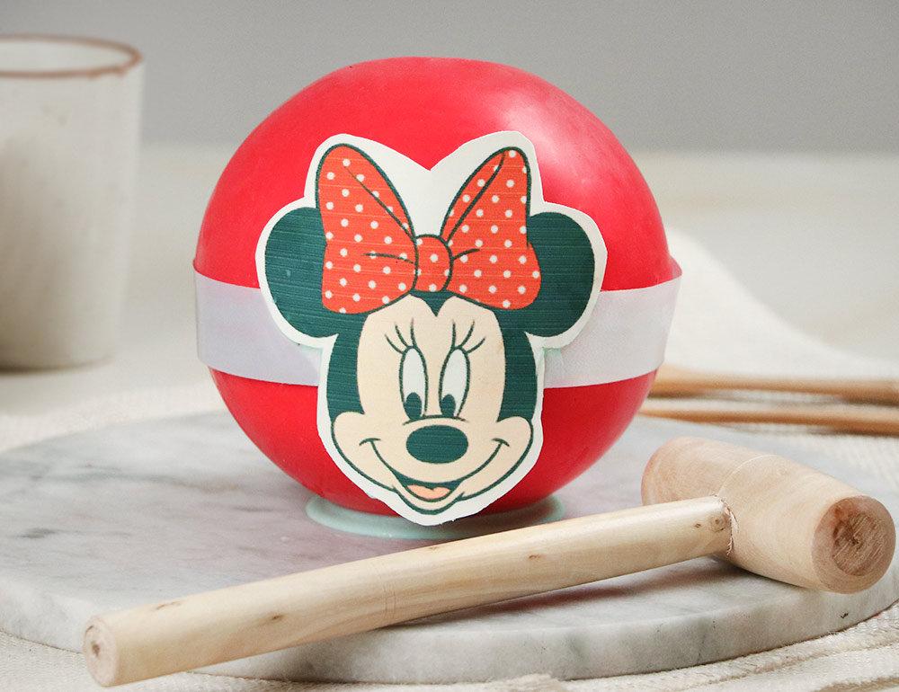 Minnie Mouse Chocolate Pinata Cake