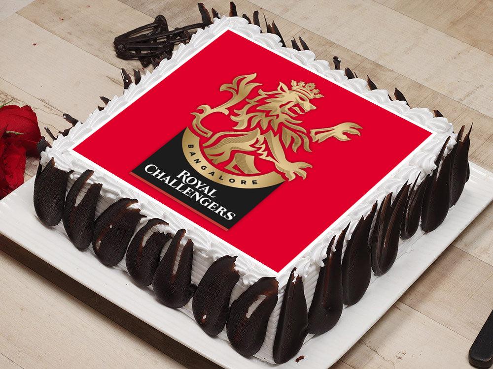 Royal Challengers Bangalore Poster Cake