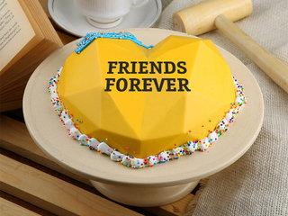 Pineapple Punch Pinata Cake