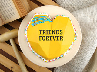 Scrumptious Pinata Friendship Day Cake (450 gm)