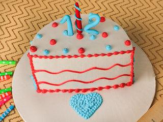 Ravishing Red Velvet Half Cake