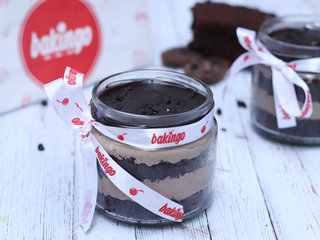 Choco Chip Single Jar Cake