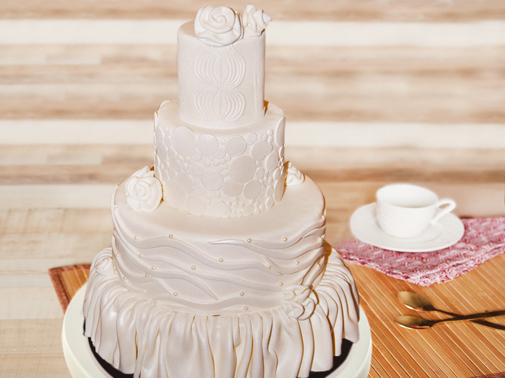 4 Tier Party Cake
