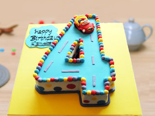 4 Number Cake - Buy Online Now