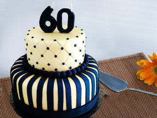 60th Anniversary Party Cake