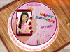 Selfie Queen Birthday Photo Cake For Girl
