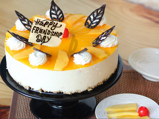 Friendship Day Special Mango Cake
