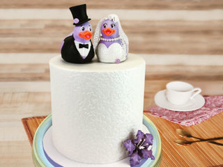 Anniversary Theme Cake for Couple