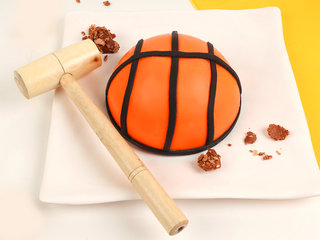 Basket Ball Ferrero Rocher Pinata Cake