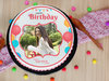 Birthday Exuberance - A Photo Cake For Birthday Celebration