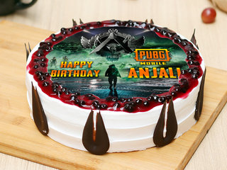 Birthday PUBG Poster Cake