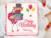 Wonderstruck Deliciousness - Square Animated Cake for Girl Child