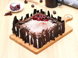 Black Forest Vegan Cake in Noida,,