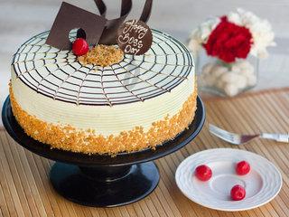 Boss Day Butterscotch Cake